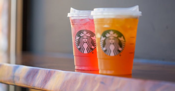 photo image Starbucks ditches plastic straws for the environment