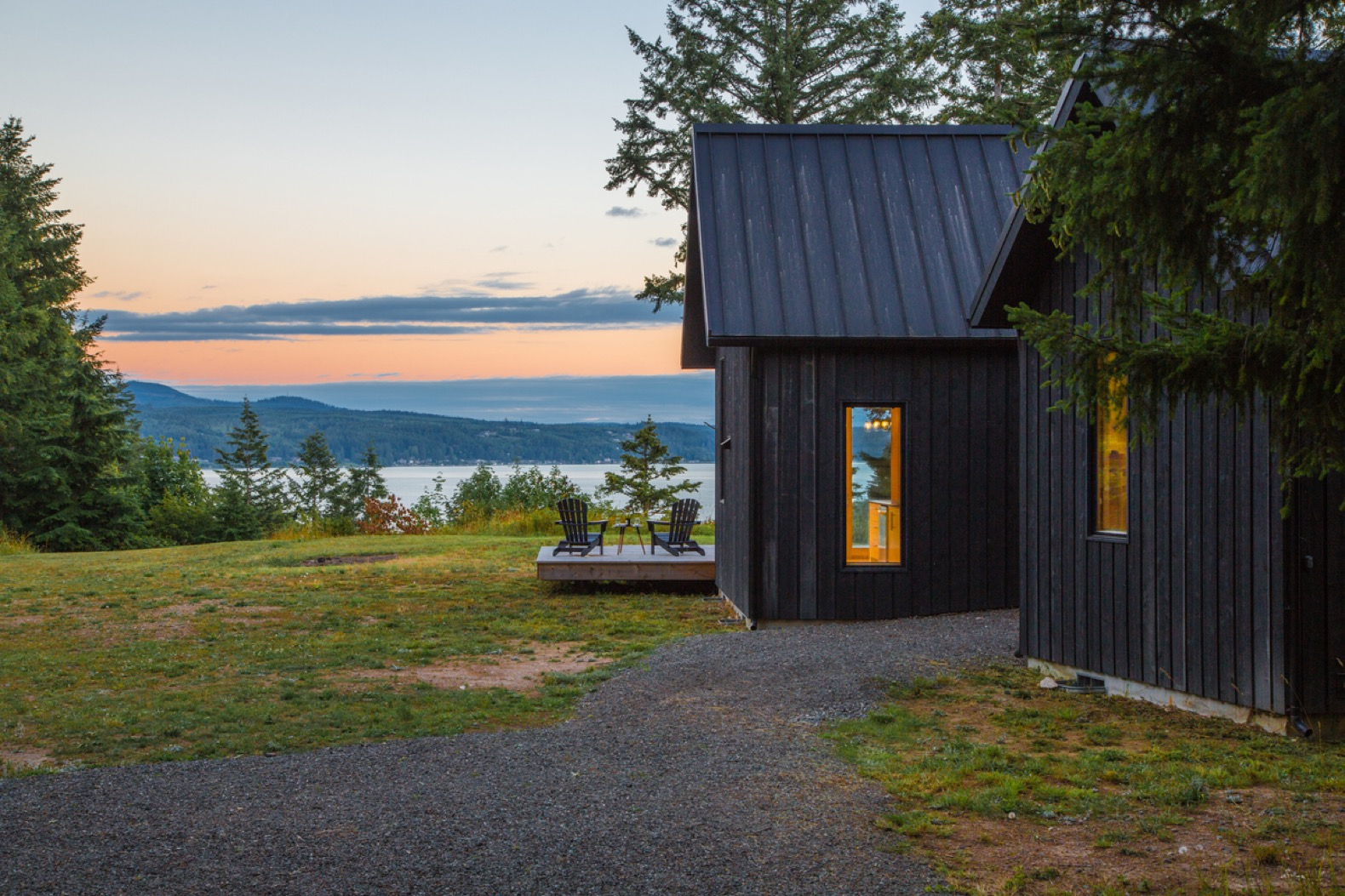 Danish-inspired holiday cabin is a dreamy Pacific Northwest hideout