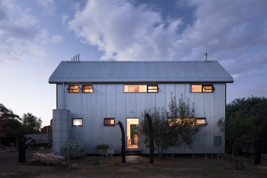 Recyclable House exterior