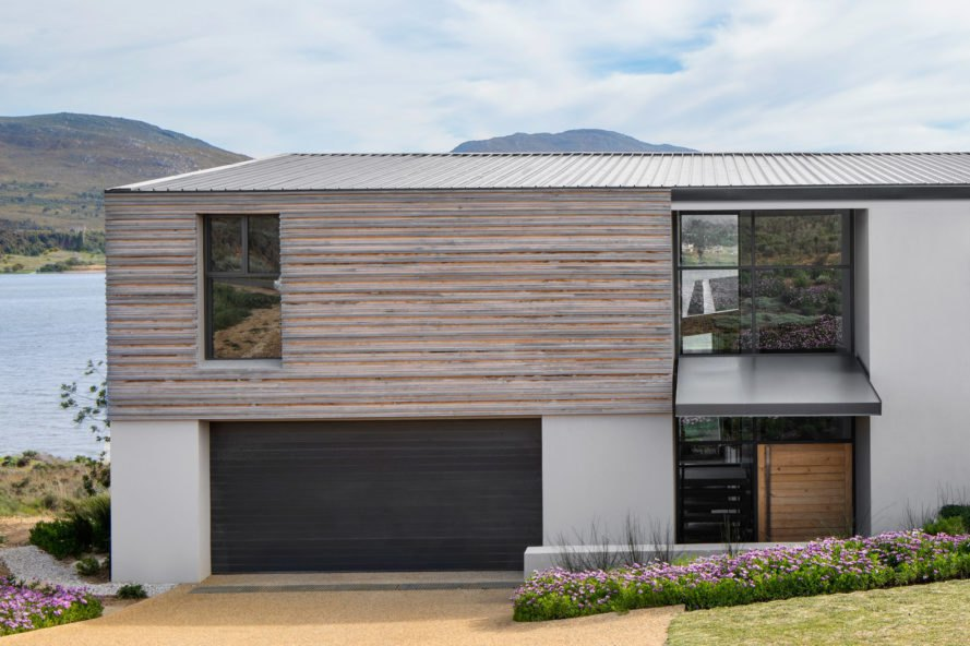 timber clad house exterior