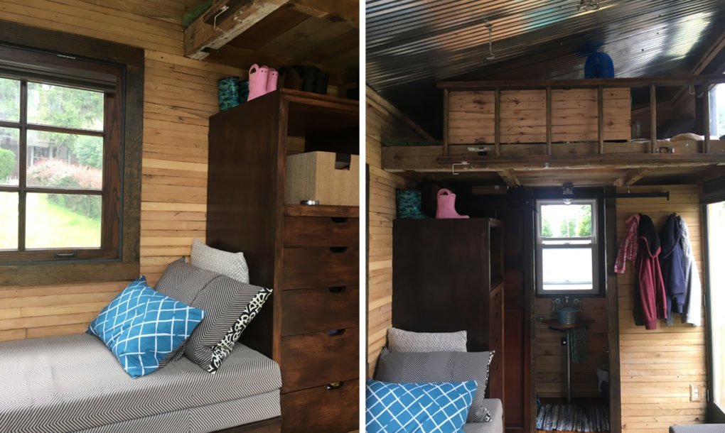 Family Tiny Home Is Built From Recycled Materials And