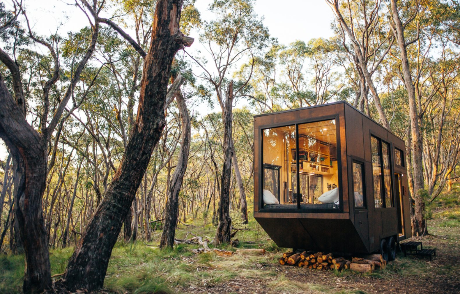 These Australian tiny cabins are designed to help us disconnect