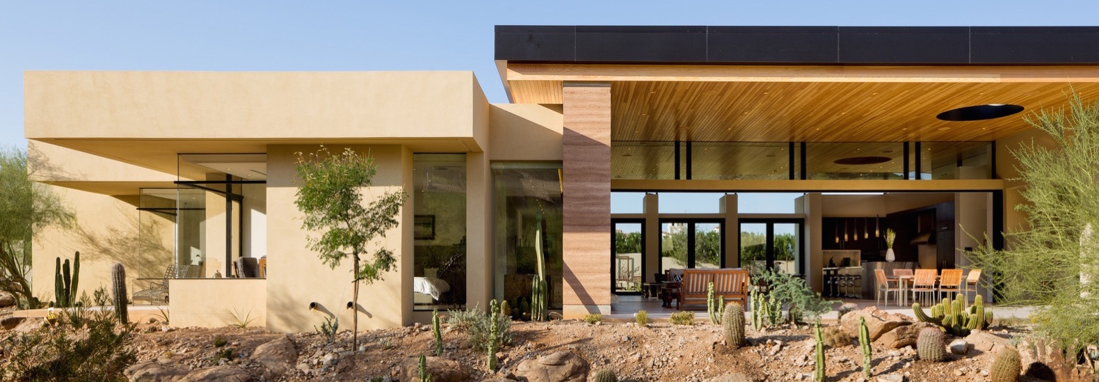 Rammed earth walls tie modern home to the desert landscape on roof house designs, architectural house designs, log house designs, cement house designs, permaculture house designs, shipping containers house designs, cob house designs, green architecture house designs, eco-block house designs, earth sheltered house designs, masonry house designs, adobe house designs, mud house designs, house house designs, hydraform house designs, adobe style homes designs, passive house designs, ferrocement house designs, construction house designs,