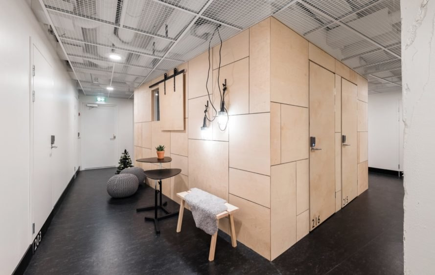 bedroom plywood volume