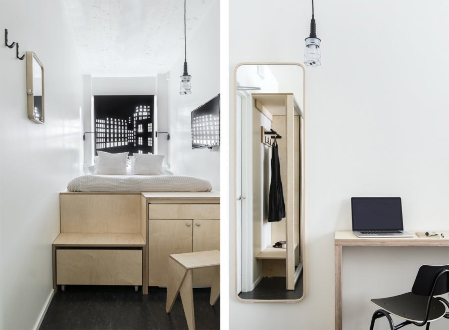 look inside a bed volume
