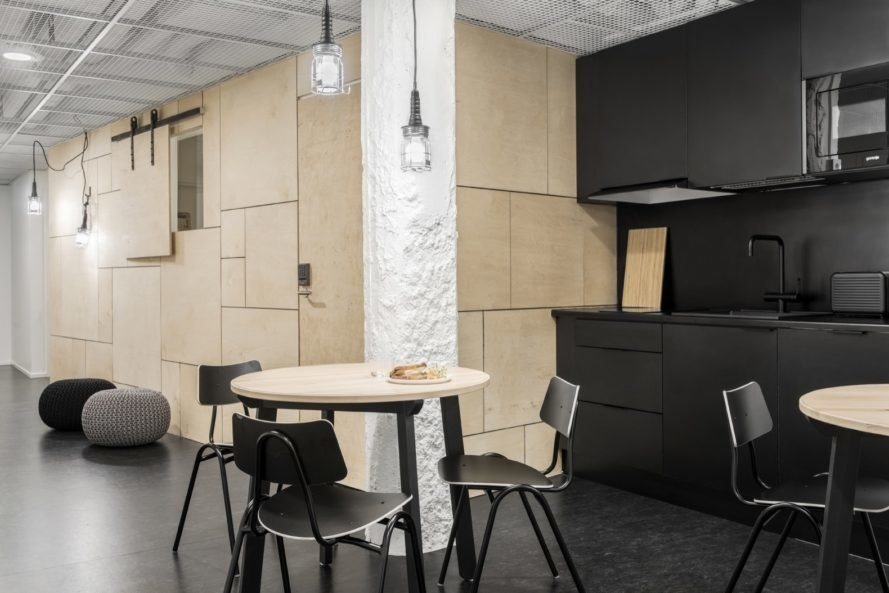 shared communal area