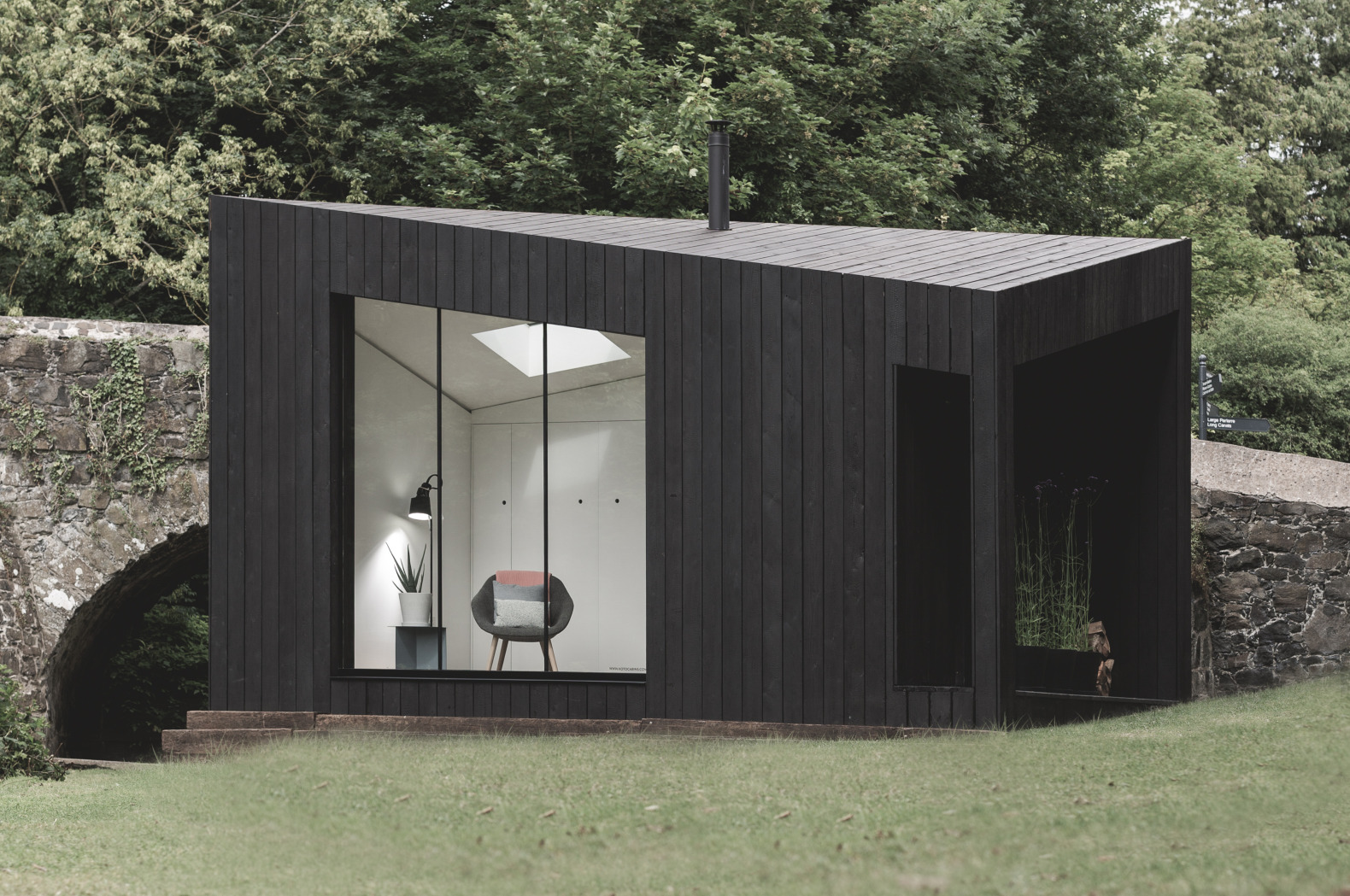 These low-energy prefab cabins are inspired by the Nordic concept of 'friluftsliv'