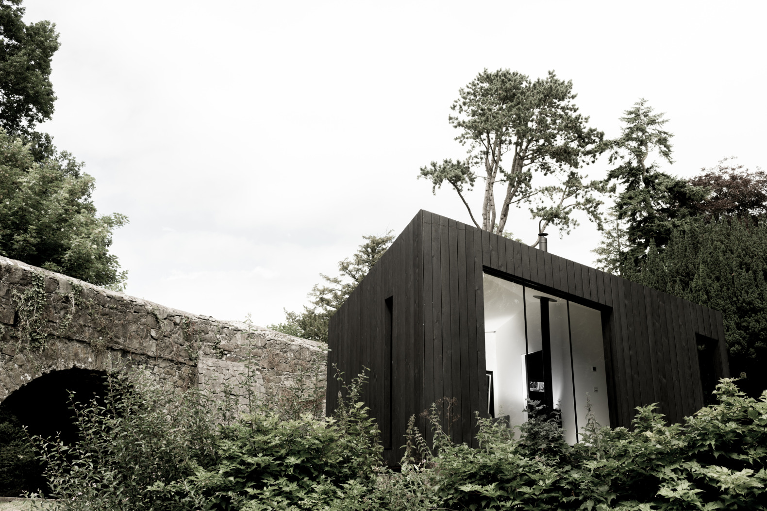 Low Energy Prefab Tiny Cabins Are Inspired By