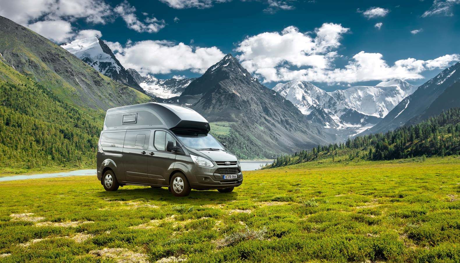 The Nugget Plus camper van has all the amenities you need for life on the road, including a toilet