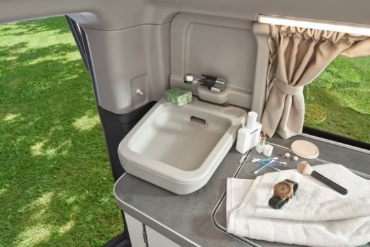 The Nugget Plus Camper Van Has Its Own Toilet