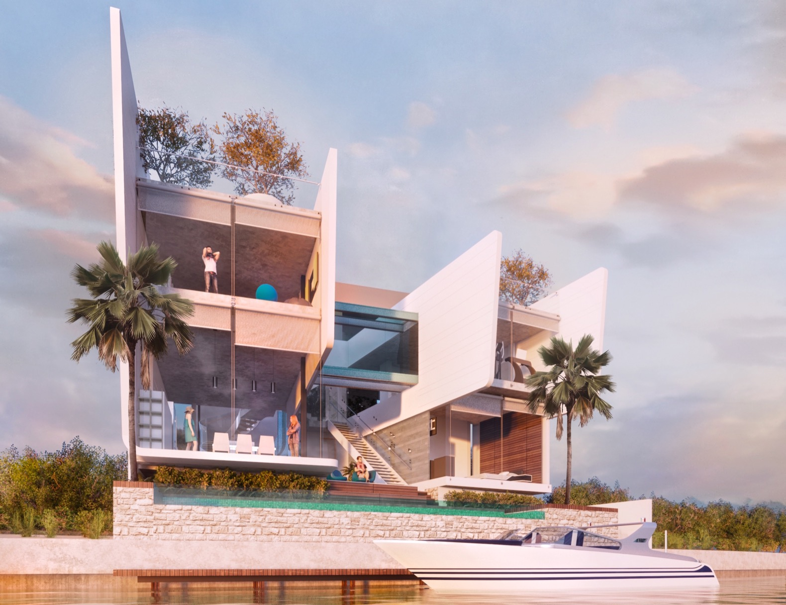 Bioclimatic home optimizes thermal comfort and energy efficiency in Cancun