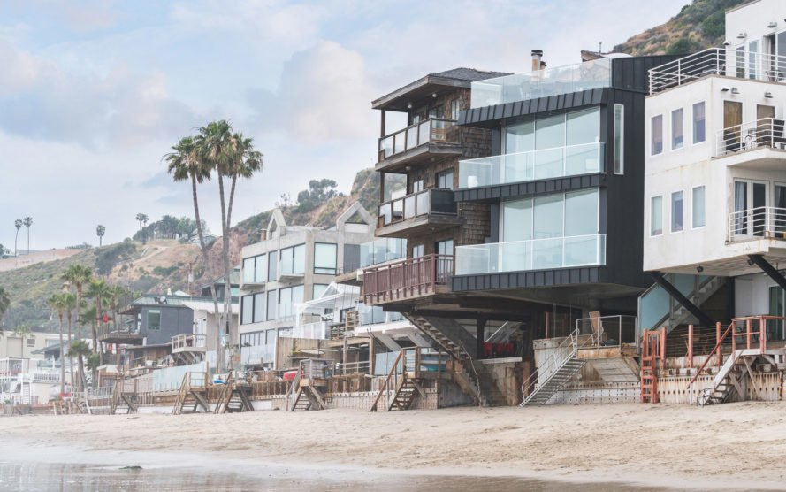 This Dreamy Malibu Beach House Is