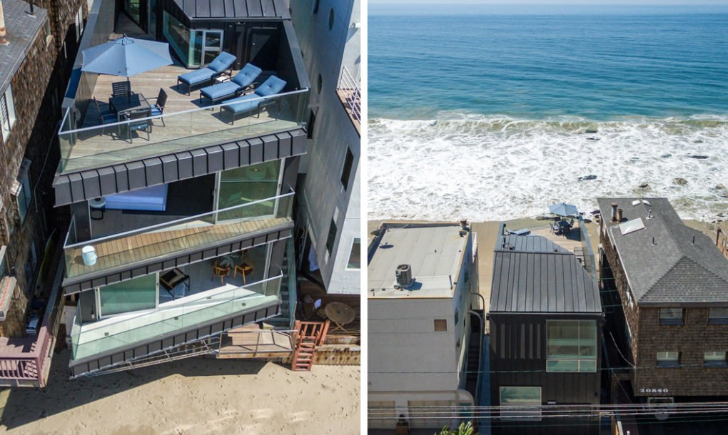 A Dreamy Malibu Beach House Designed To Withstand Climate