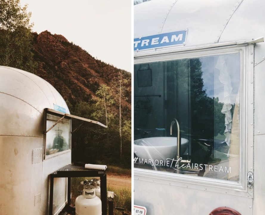 renovated airstream exterior