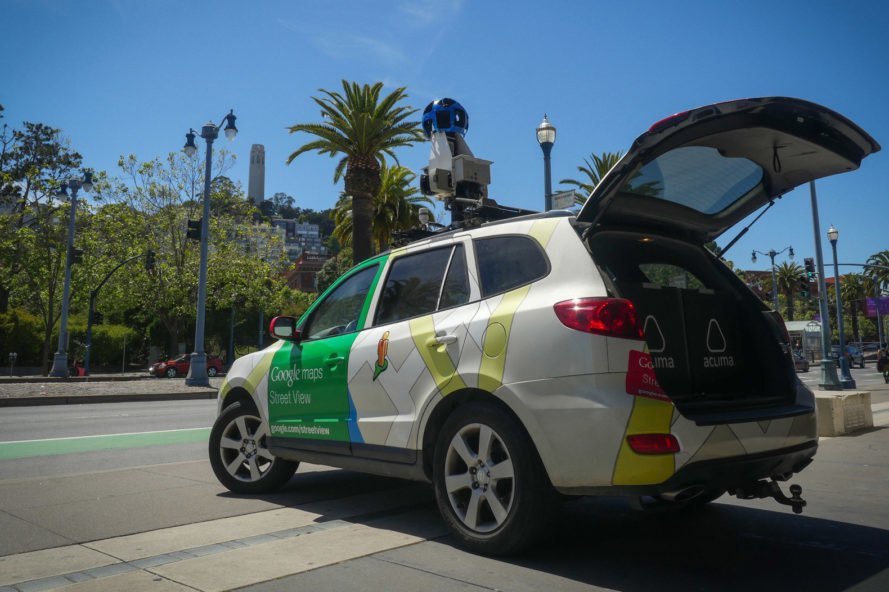 Google Street View cars will map air pollution in cities