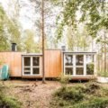 Two design students build off-grid cabin in remote Finnish