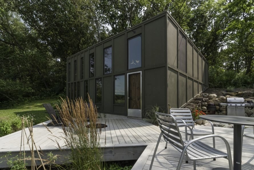 This bold, sustainable home will age gracefully near an Indiana wetland
