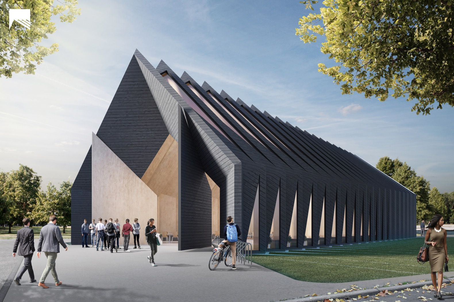 MIT develops a sustainable, mass timber-building prototype modeled after the longhouse