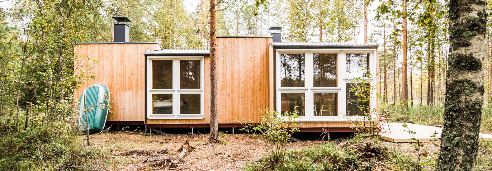 Two Design Students Build Off Grid Cabin In Remote Finnish Forest