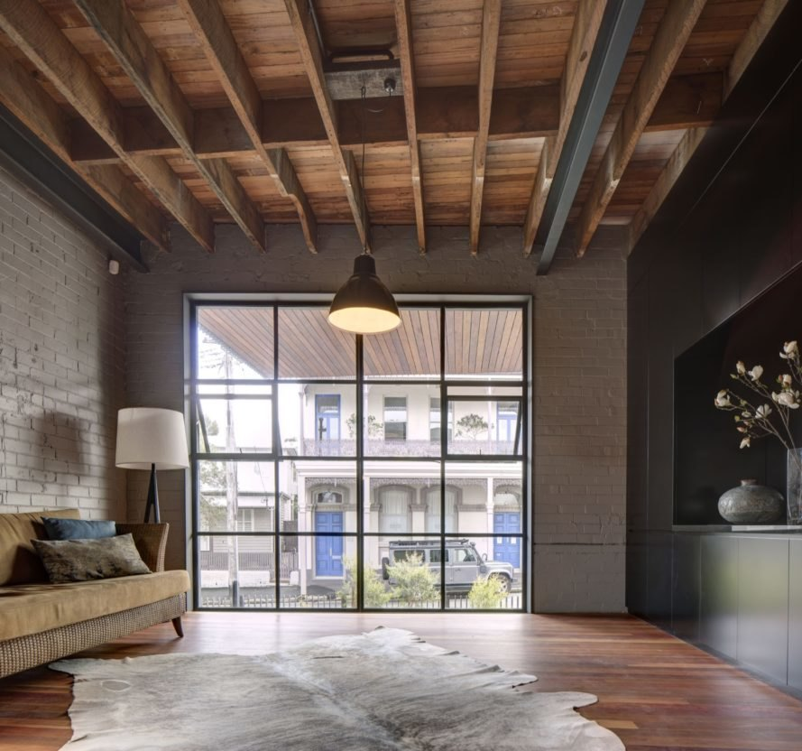 Old Sydney warehouse is transformed into an industrial-chic home