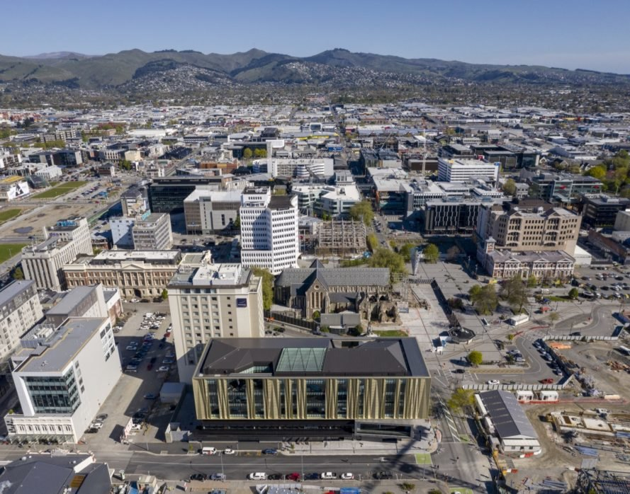 Earthquake-resistant Christchurch Central Library is a stunning symbol of rebirth