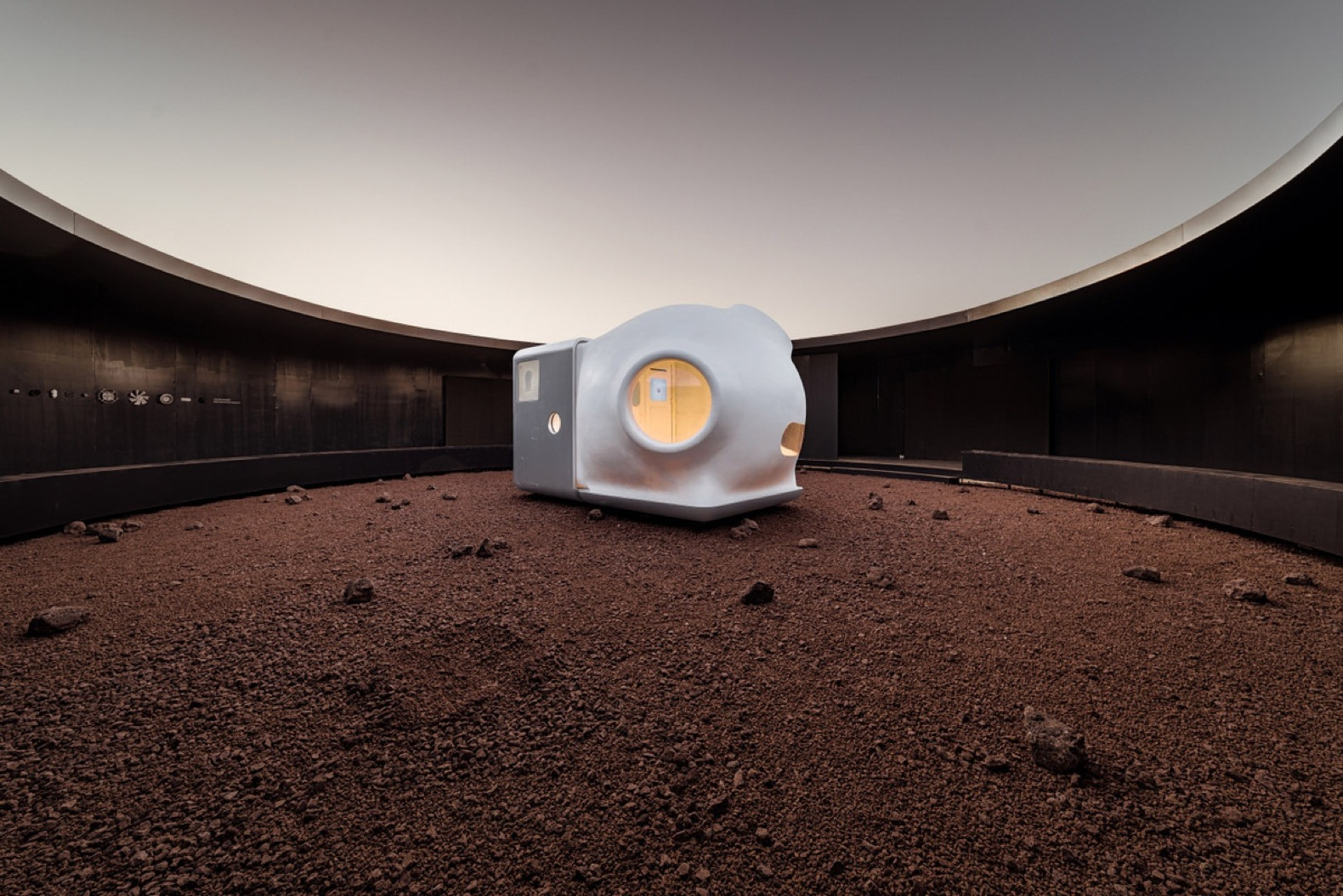 Martian tiny home prototype champions zero waste and self sufficiency