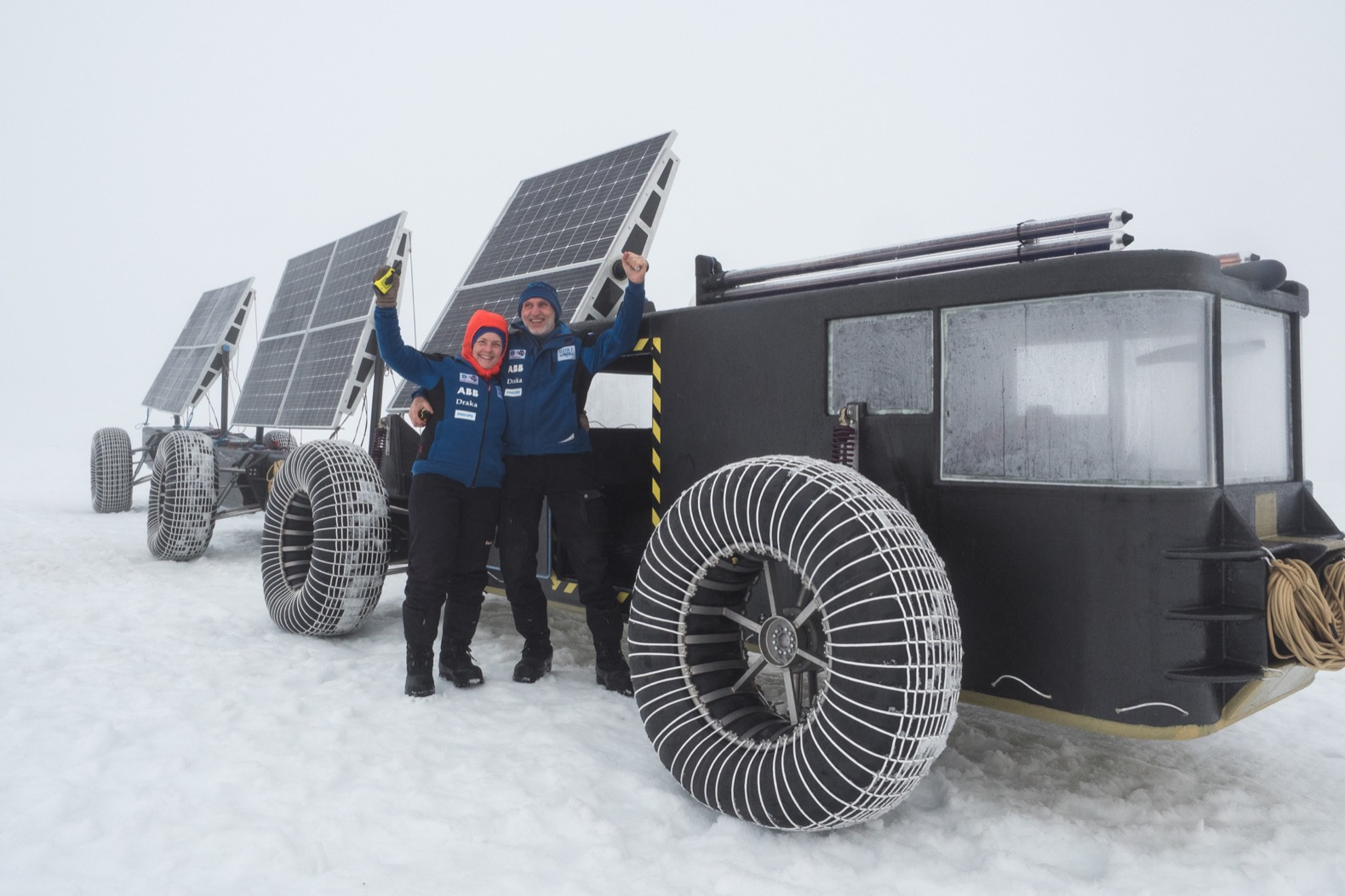 Dutch couple to drive a solar-powered, 3D-printed vehicle to the South Pole