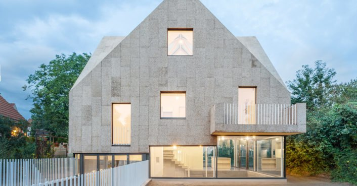 Solar Powered Cork House Pursues Healthy Sustainable Living