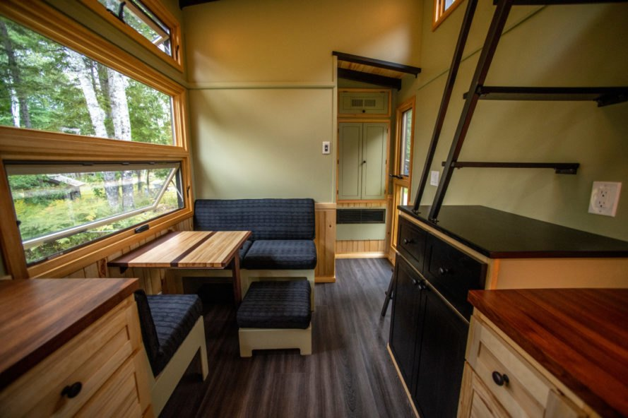dining space in tiny home