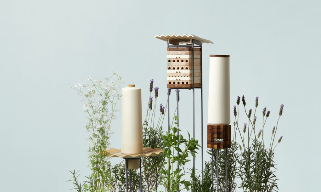 MaliArts designs city-chic beehives to save solitary bees