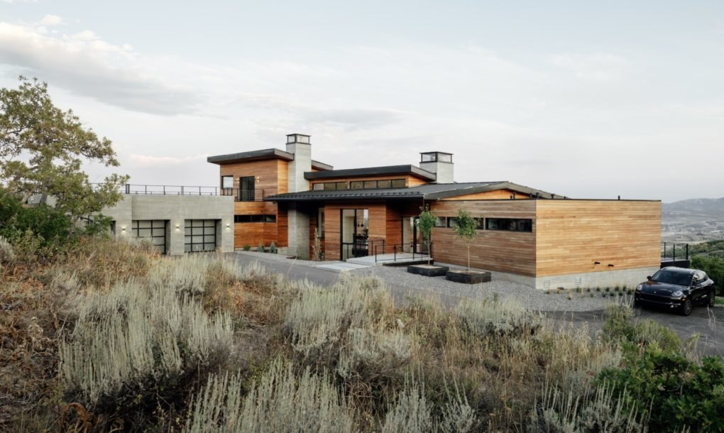 Gorgeous, energy-efficient retreat rests among Utah's mountains