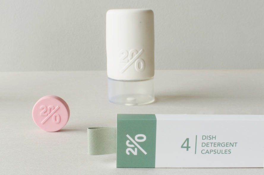 Twenty aims to dramatically reduce the waste of household products
