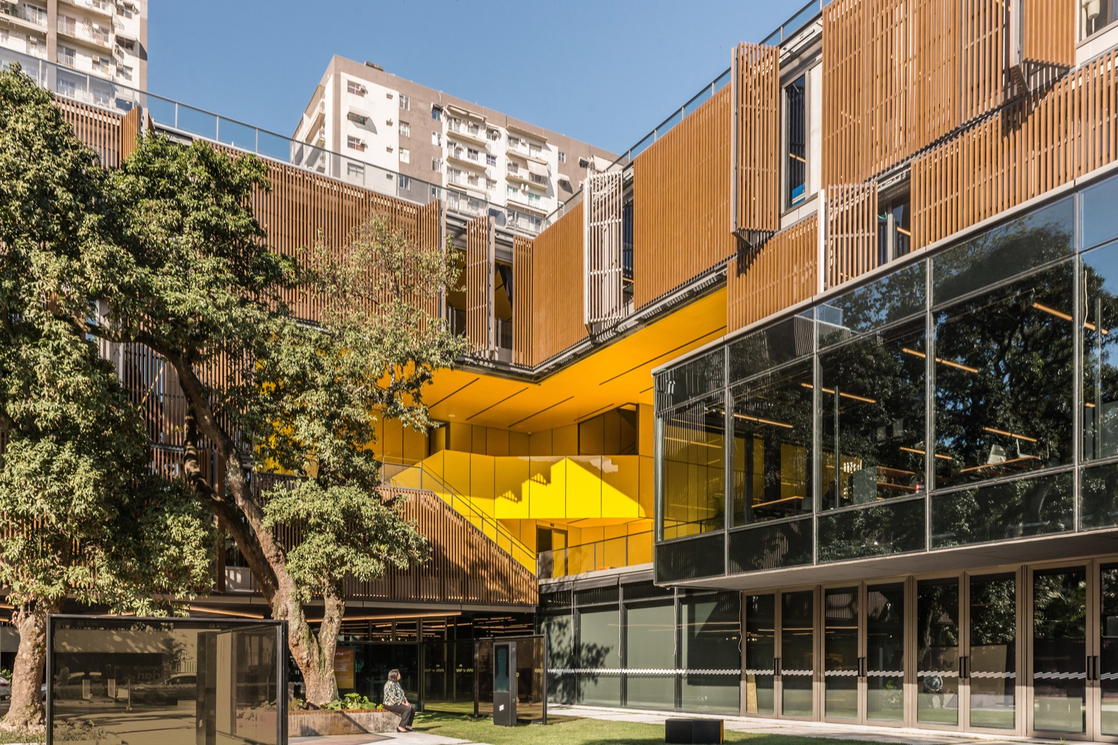 Award-winning innovation center harnesses recycled rainwater and solar energy