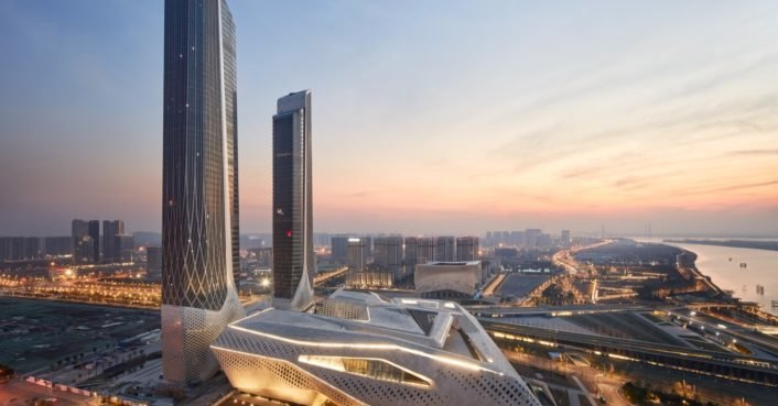 photo image Zaha Hadid Architects completes highly complex Nanjing International Youth Cultural Centre