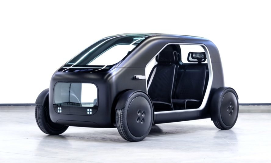 electric car doors opening to inside