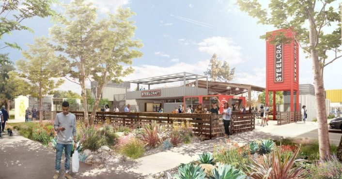 Shipping container food halls slated to revitalize Southern California neighborhoods