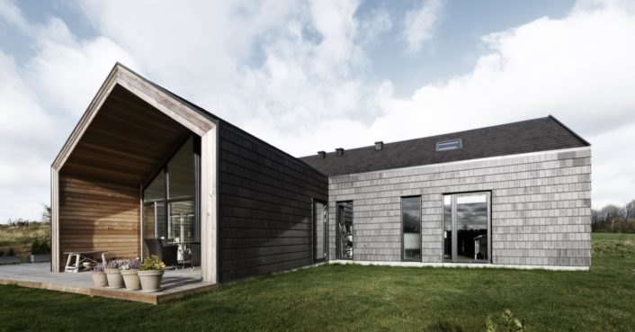 Danish home champions wood over concrete for lower carbon emissions