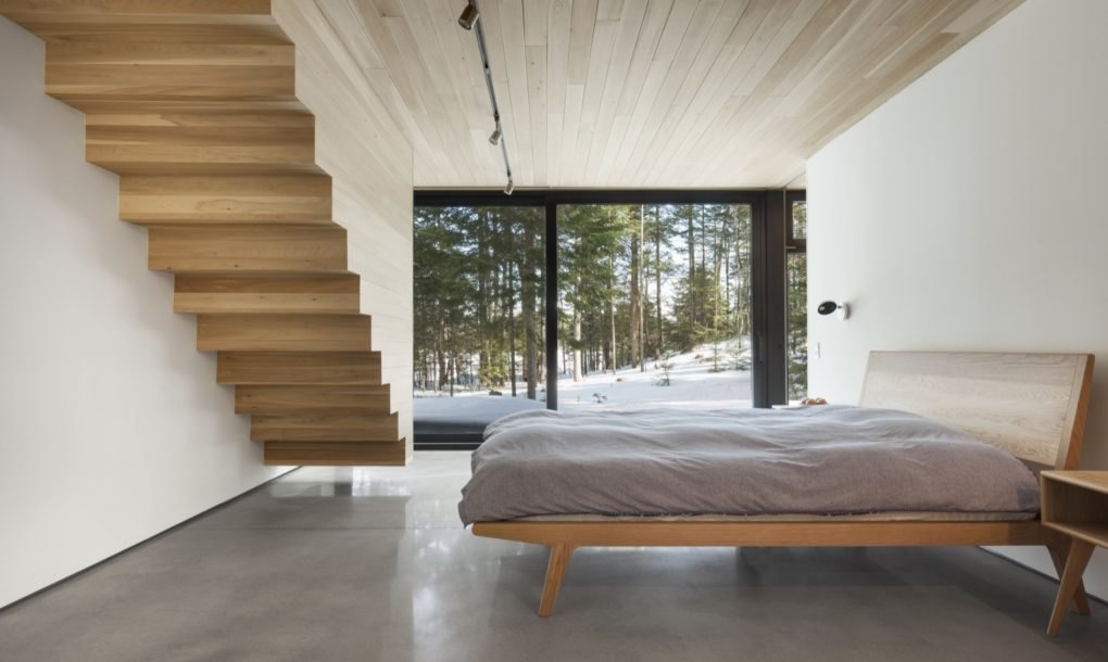 Minimalist Triptych House Pulls The Quebec Outdoors In