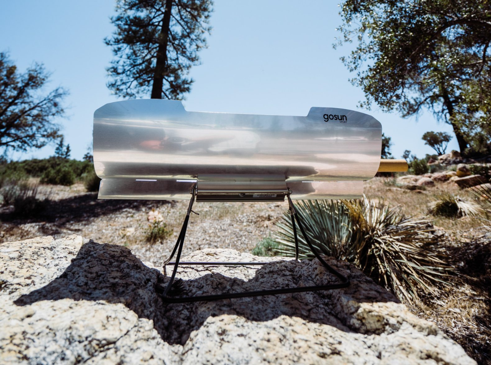 GoSun unveils solar cooker that lets you serve up some sizzling meals at night