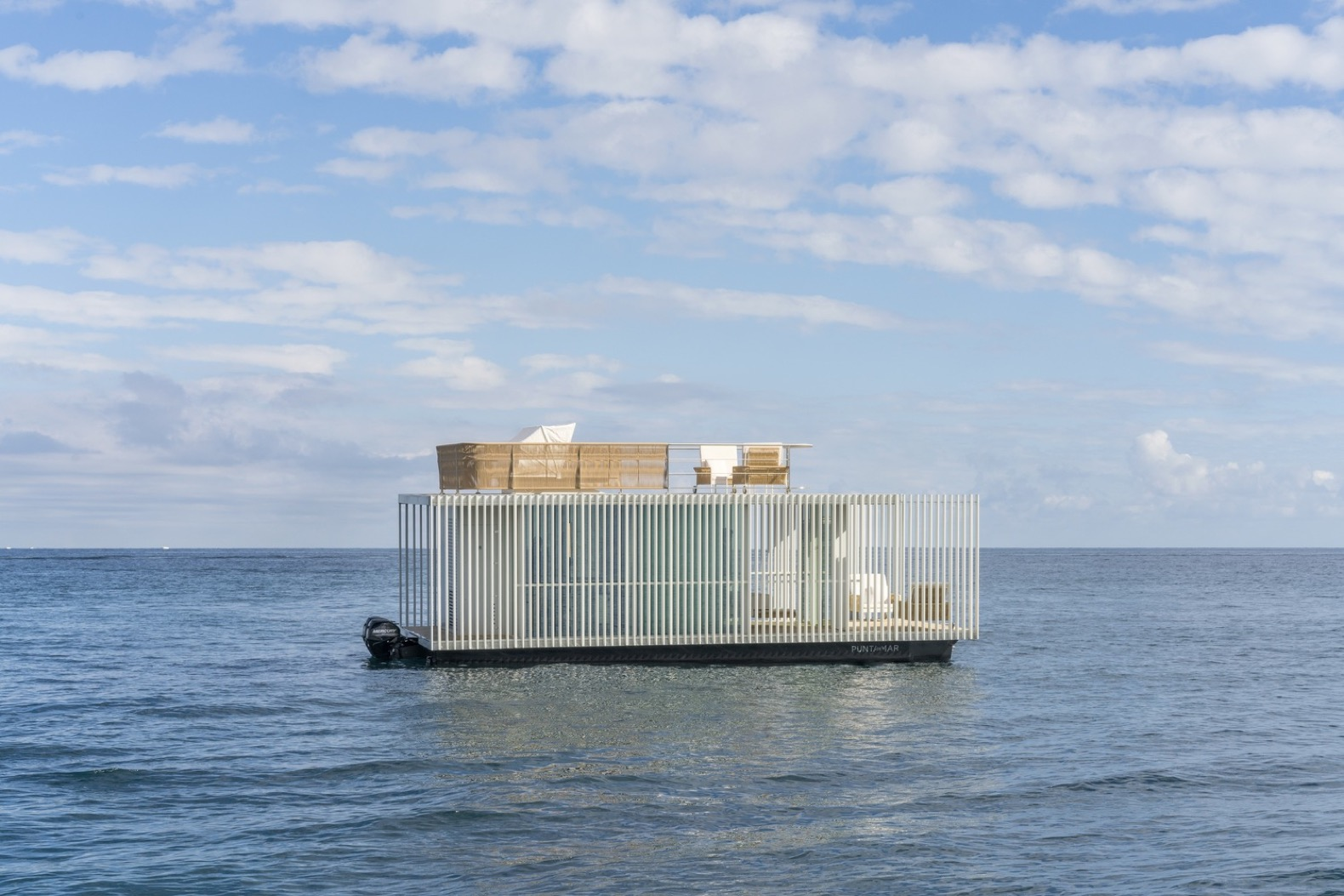 Solar-powered floating hotel room is designed to pop up anywhere on water