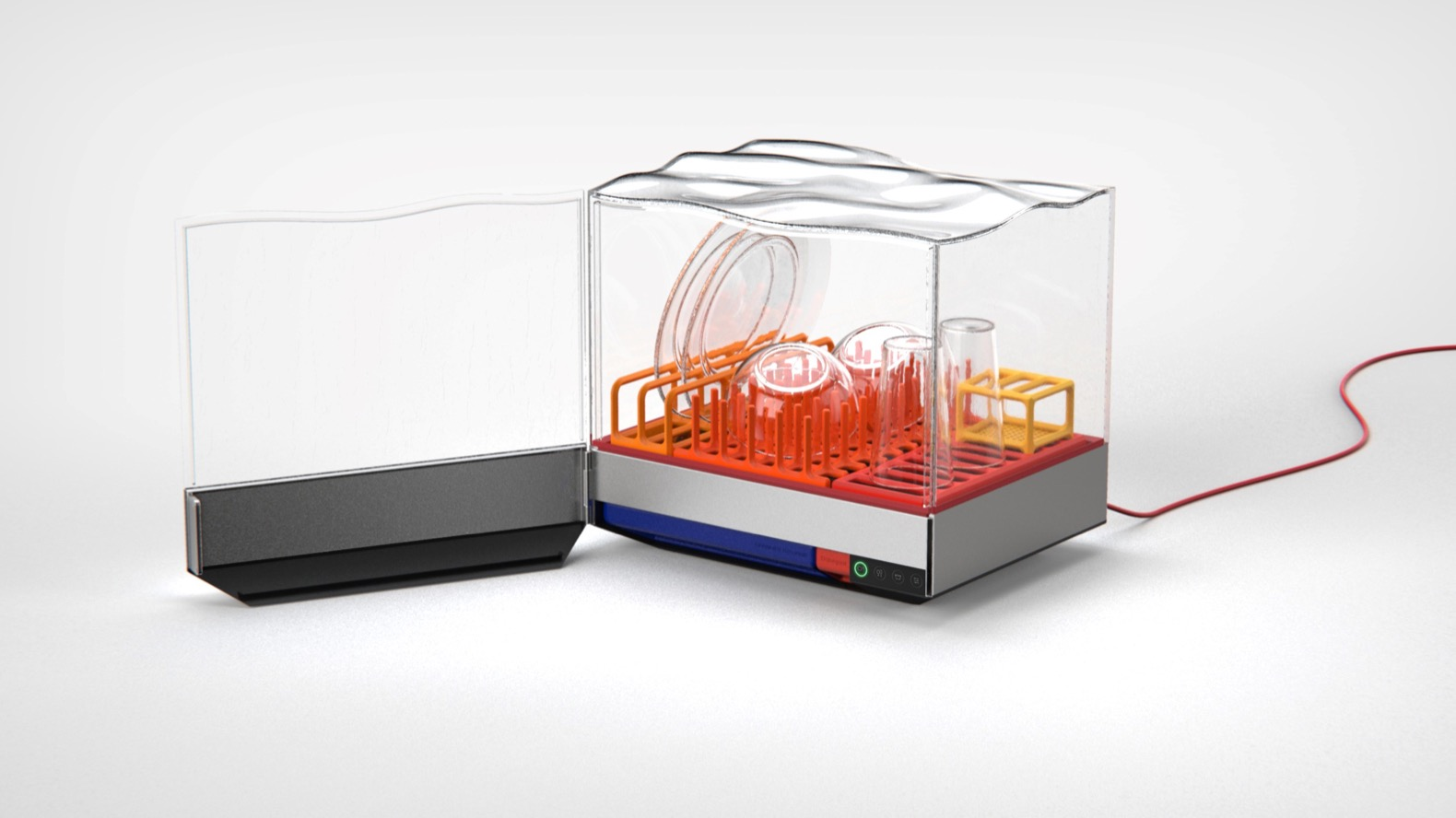 This countertop dishwasher promises to wash your dishes in just 10 minutes