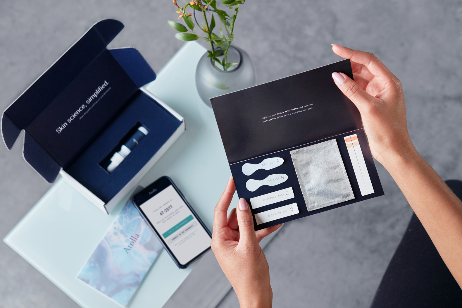 Atolla combines technology with design to customize sustainable skincare