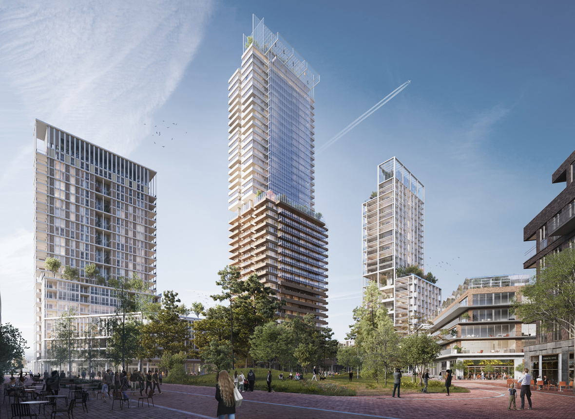 High-rise living in Utrecht to be transformed by a sustainable vertical village