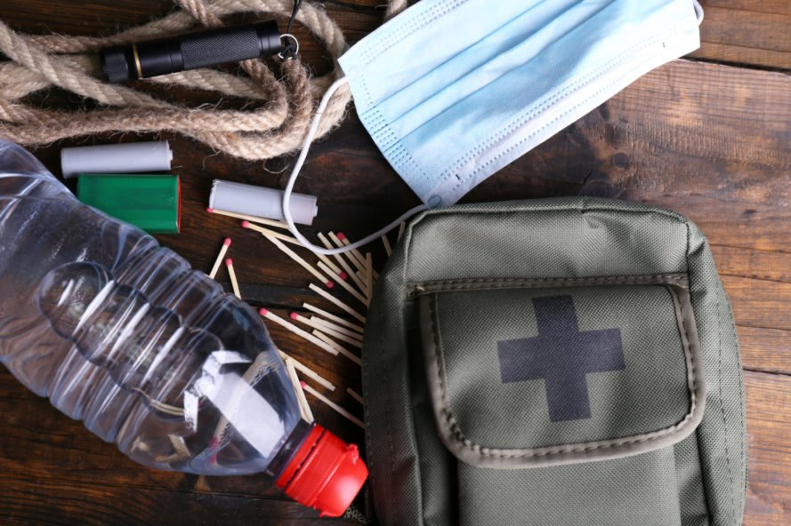 emergency aid kit