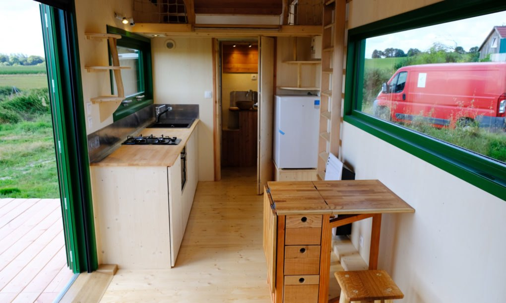 This Aerodynamic Tiny Home Embraces Flexible Indoor Outdoor Living Inhabitat Green Design Innovation Architecture Green Building