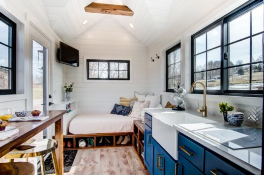 Tiny Home Designs: Walmart's Tiny Home On Wheels Is Embarking On A National Tour