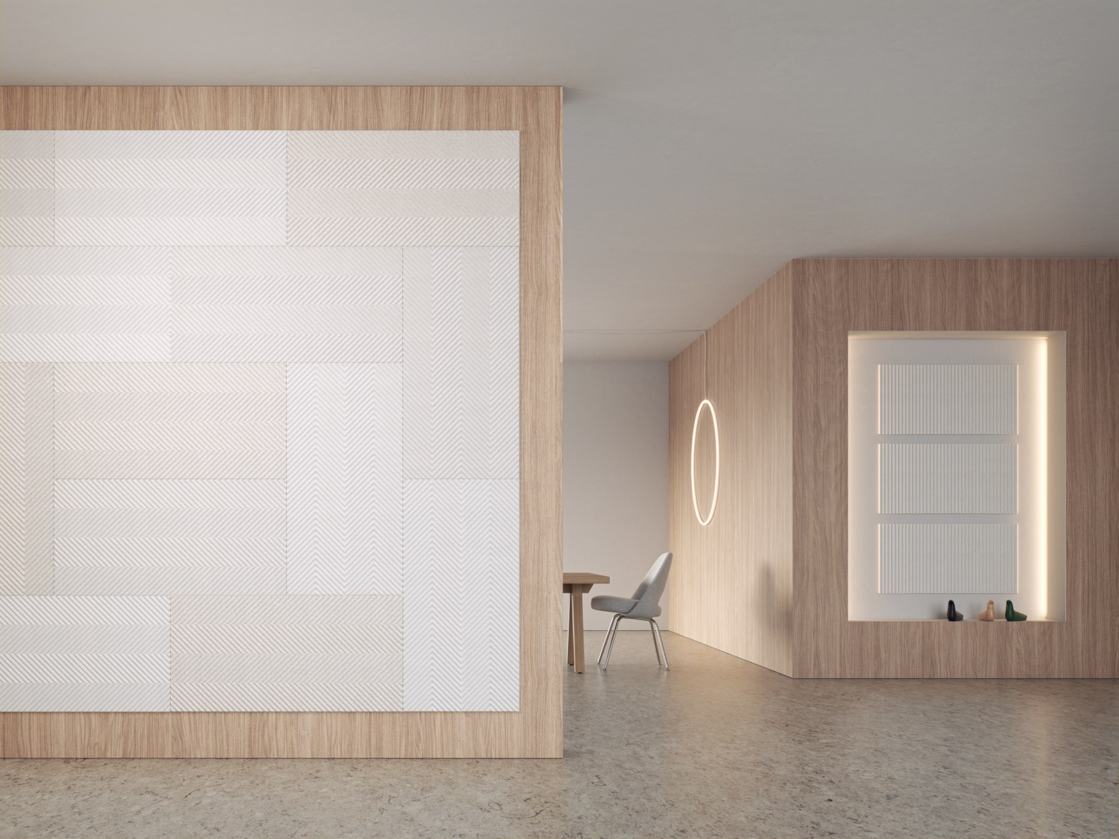 Baux unveils sustainable acoustic panels made out of chemical-free pulp