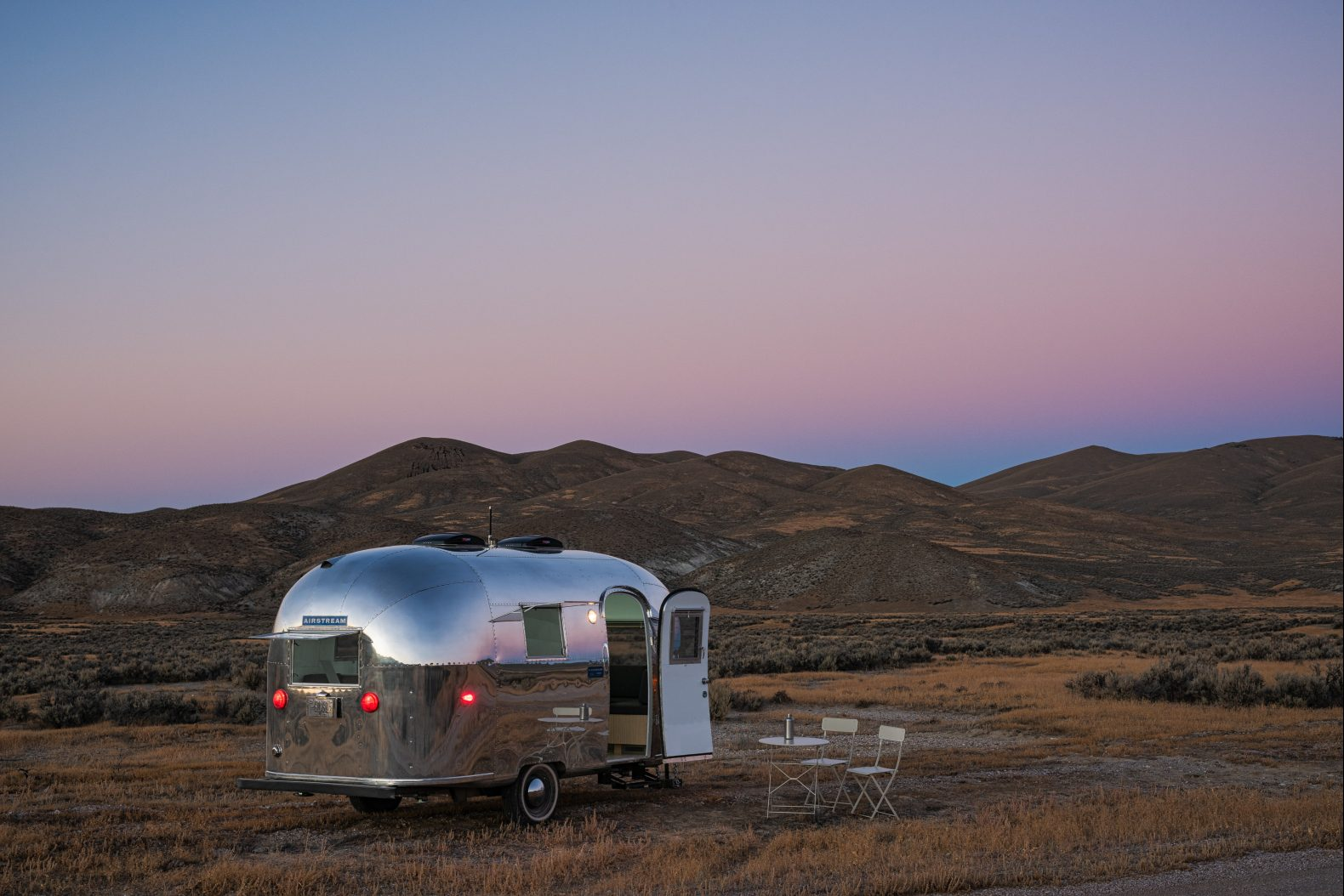 A rare 'Bambi' Airstream trailer becomes a stunning mobile office