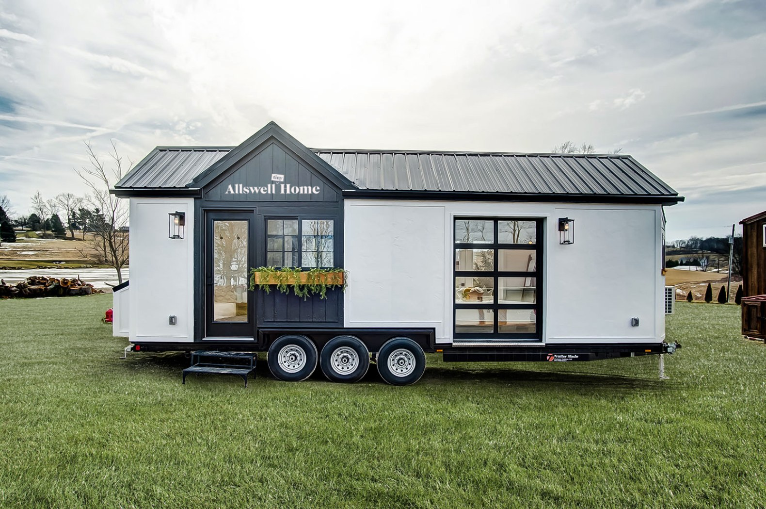 Walmart's tiny home on wheels is embarking on a tour around the country