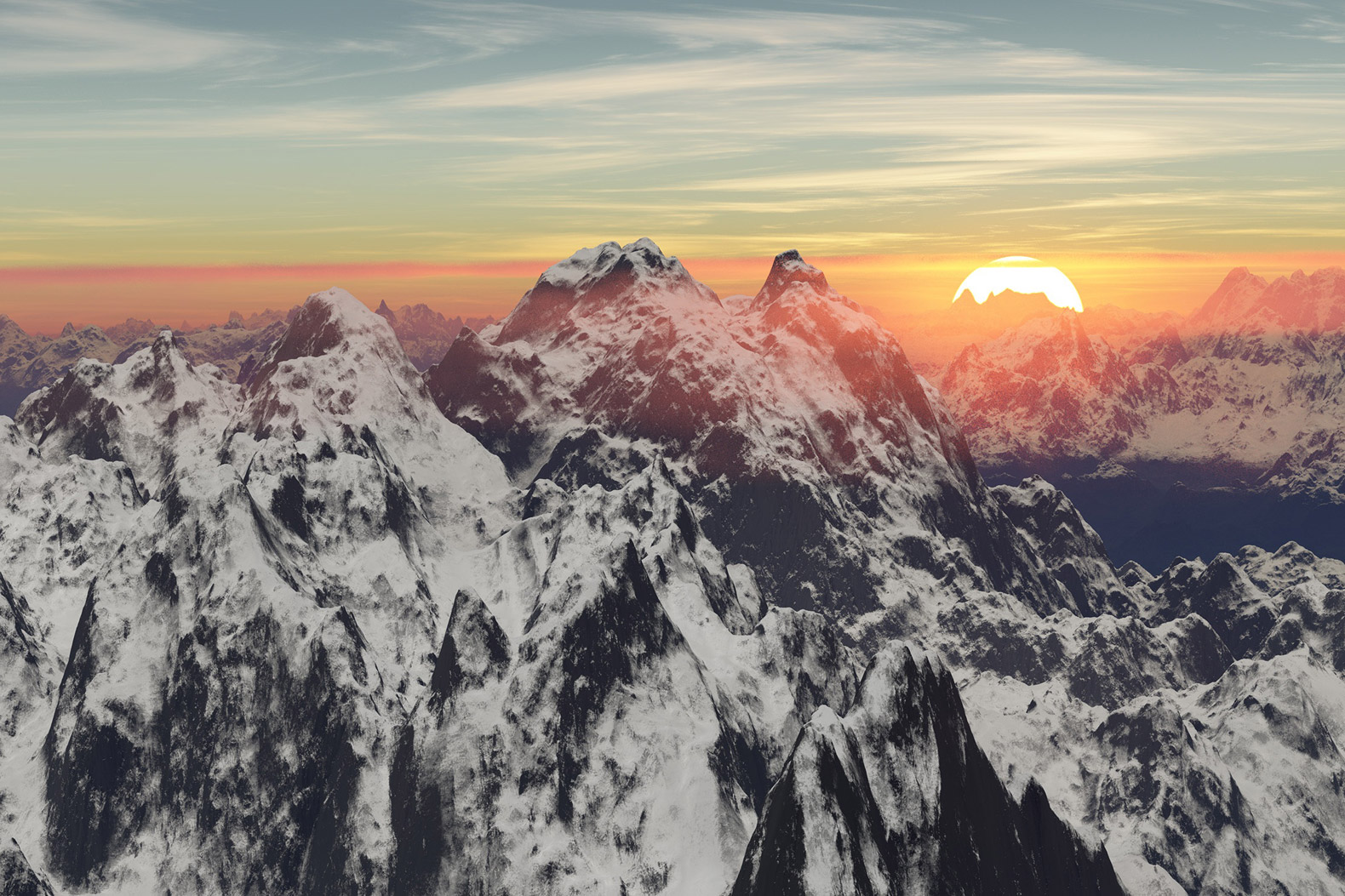 Global warming will melt over 1/3 of the Himalayan ice cap by 2100